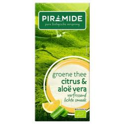 Groene thee aloe vera bio